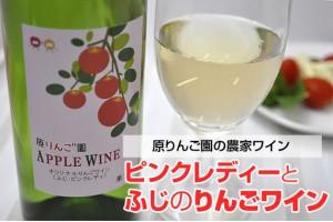 ピンクレディーと ふじのりんごワイン