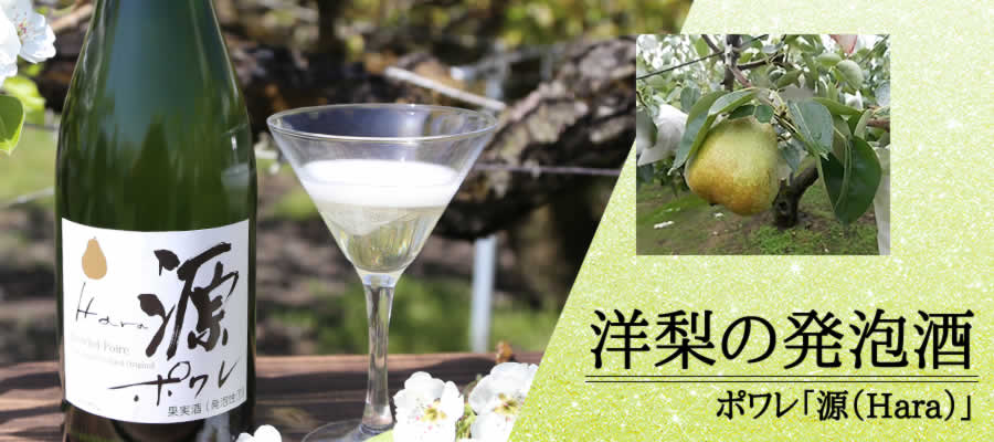 洋梨の発泡酒